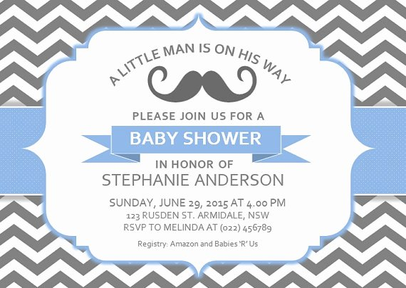 Microsoft Word Invitation Template Elegant Baby Shower Invitation Templates Free Baby Shower