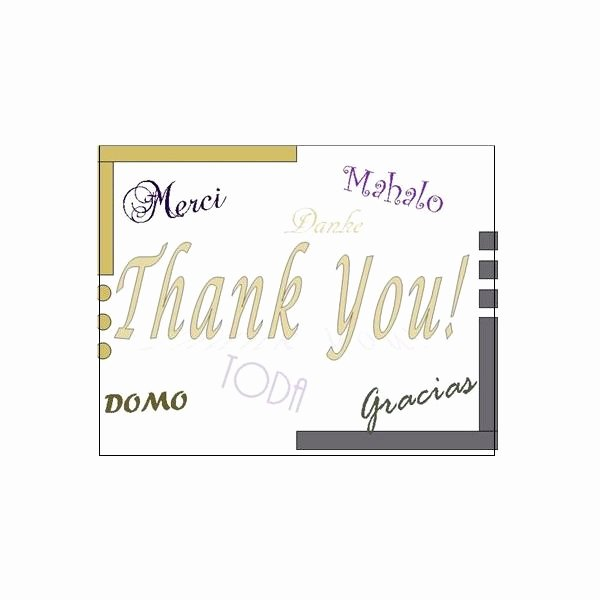 Microsoft Word Postcard Template Luxury Thank You Postcards Free Templates for Microsoft Publisher