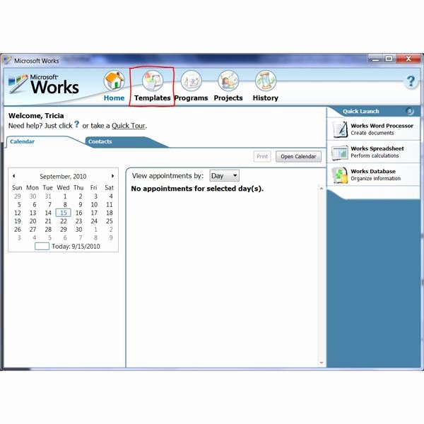 Microsoft Word Program Template New How to Use the Free Brochure Templates for Microsoft Works