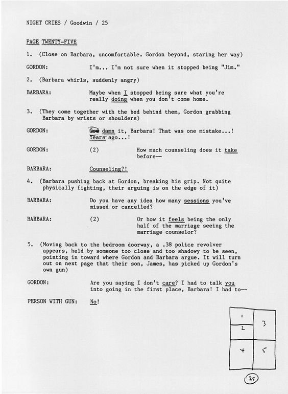 Microsoft Word Screenplay Template Beautiful Graphic Novel Script format