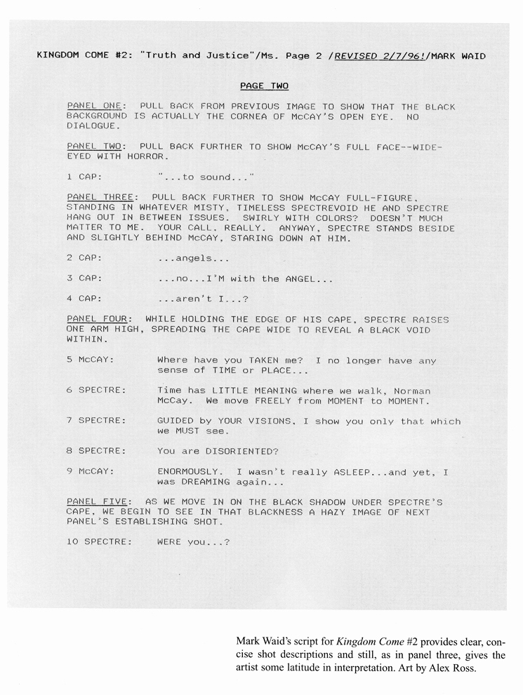 Microsoft Word Screenplay Template Best Of Graphic Novel Writing