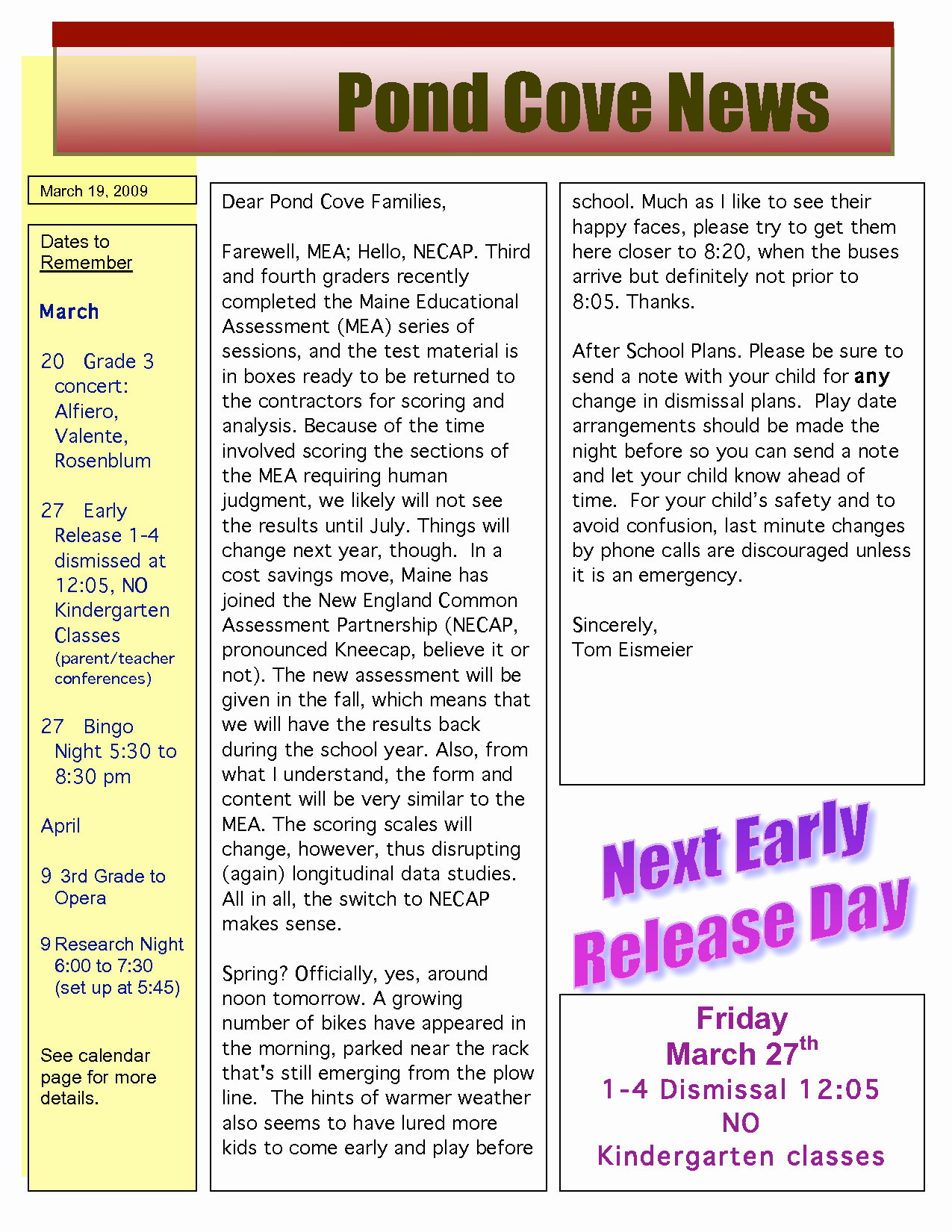 Middle School Newsletter Template Awesome Best S Of Middle School Newspaper Template