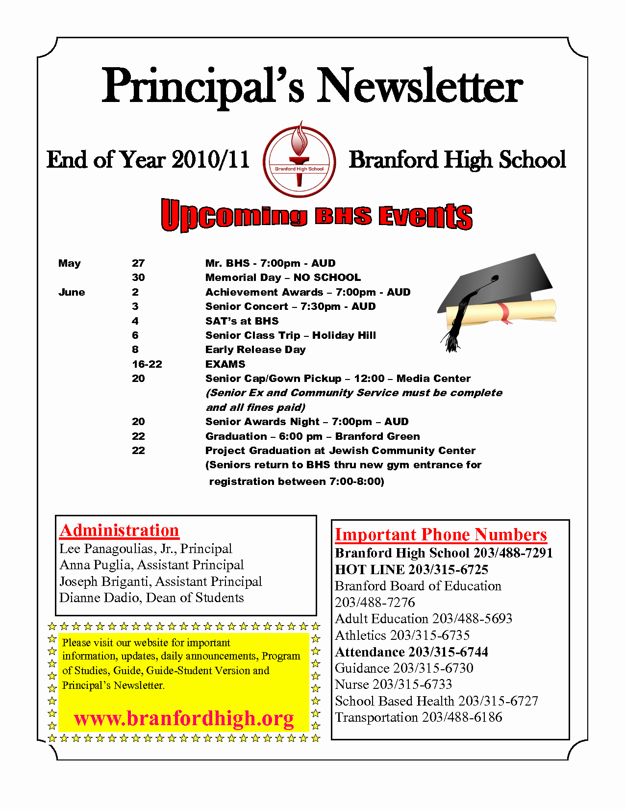 Middle School Newsletter Template Beautiful Best S Of High School Newsletter Templates Free