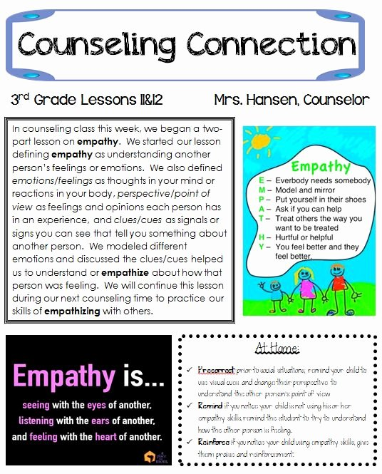 Middle School Newsletter Template New School Counselor Newsletter Ideas Winding Down the School