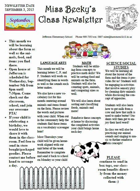 Middle School Newsletter Template Unique Lanier Middle School Homepage