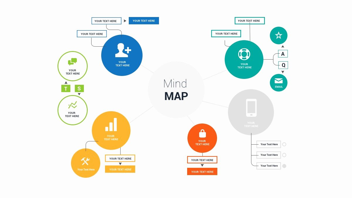 Mind Map Template Powerpoint Best Of Free Mind Map Powerpoint Template Ppt Presentation theme