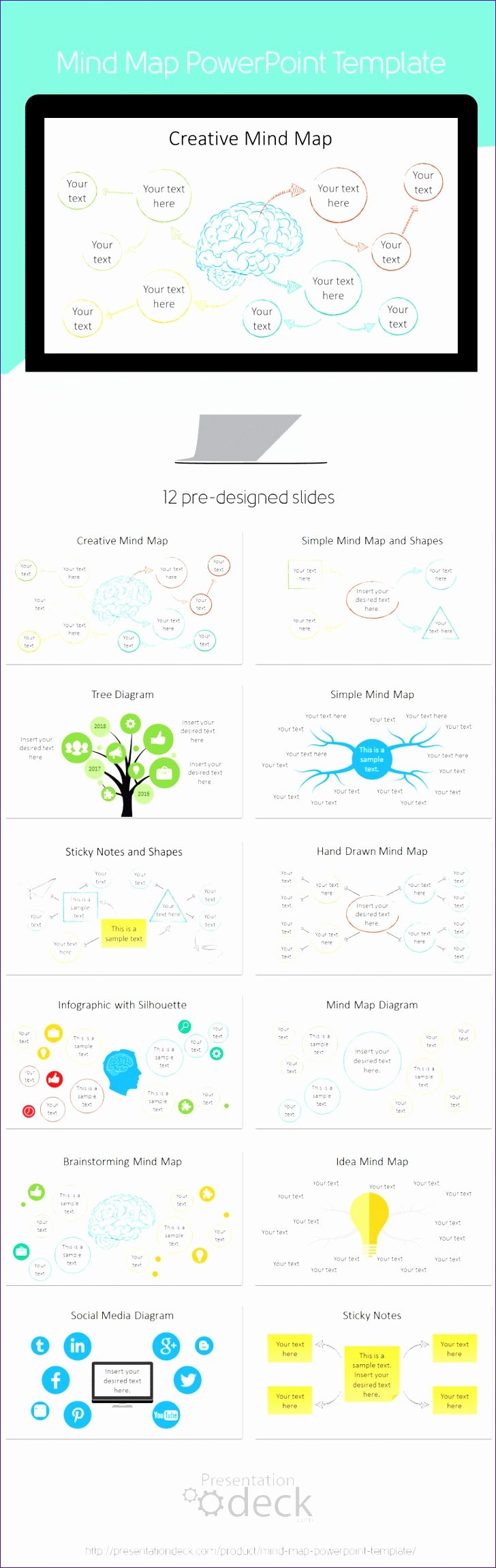 Mind Map Template Powerpoint Lovely 14 Excel Mind Map Template Exceltemplates Exceltemplates