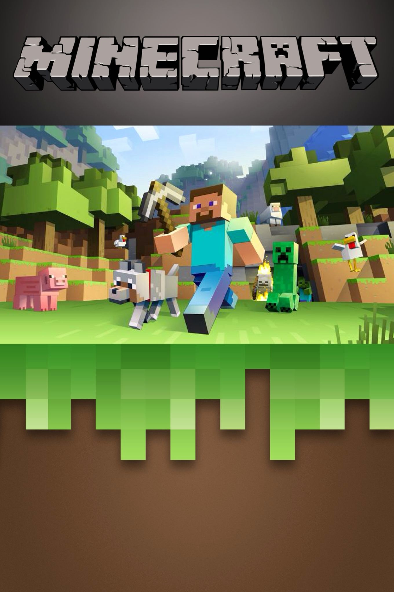 Minecraft Birthday Invite Template Lovely Free Minecraft Invitation Template Edit On Phonto App