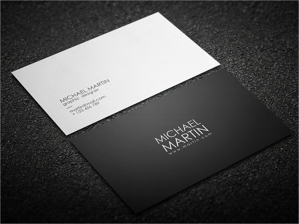 Minimalist Business Card Template Awesome 22 Modern Business Card Templates Free Download