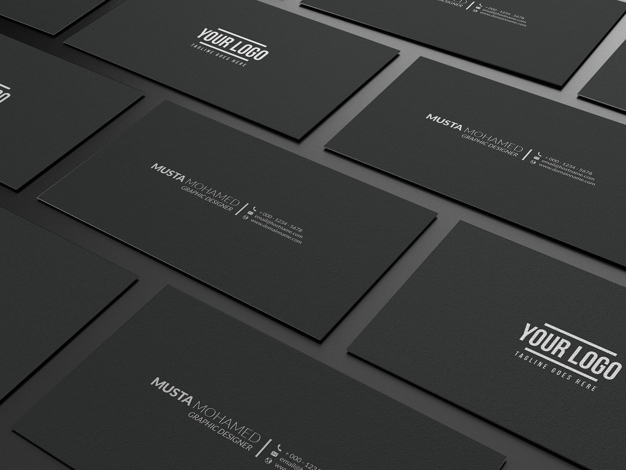 Minimalist Business Card Template Awesome Black Business Cards Inspiration Cardfaves