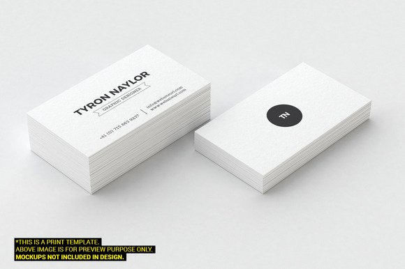 Minimalist Business Card Template Best Of 20 Minimalist Business Card Templates