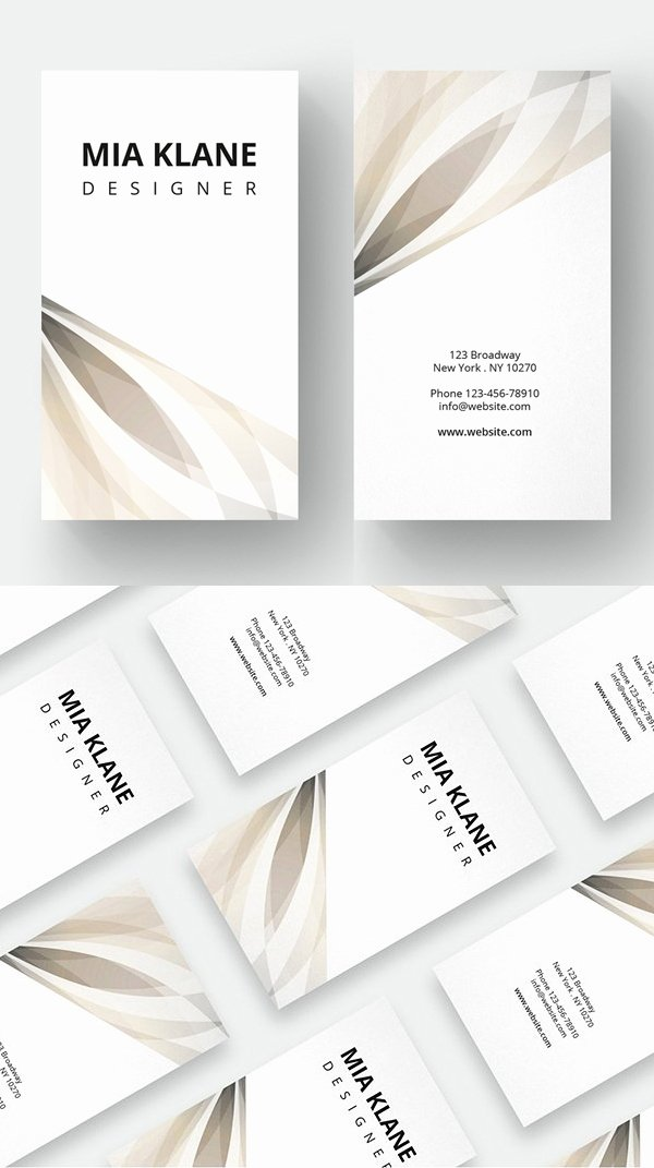 Minimalist Business Card Template Best Of 25 Minimal Clean Business Cards Psd Templates