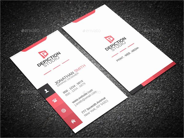 Minimalist Business Card Template Lovely 14 Minimalist Business Card Templates Illustrator