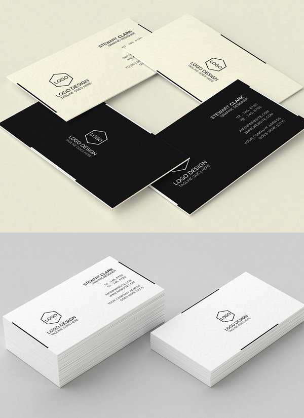 Minimalist Business Card Template Lovely 30 Minimalistic Business Card Designs Psd Templates