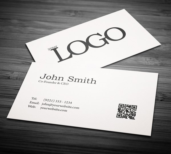 Minimalist Business Card Template Lovely Free Business Cards Psd Templates Print Ready Design