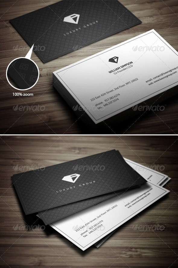 Minimalist Business Card Template Luxury 17 Ready to Print Minimalist Business Card Templates