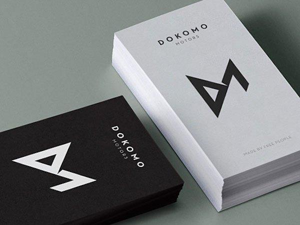 Minimalist Business Card Template New 60 Fresh Minimalist Business Card Designs for Inspiration