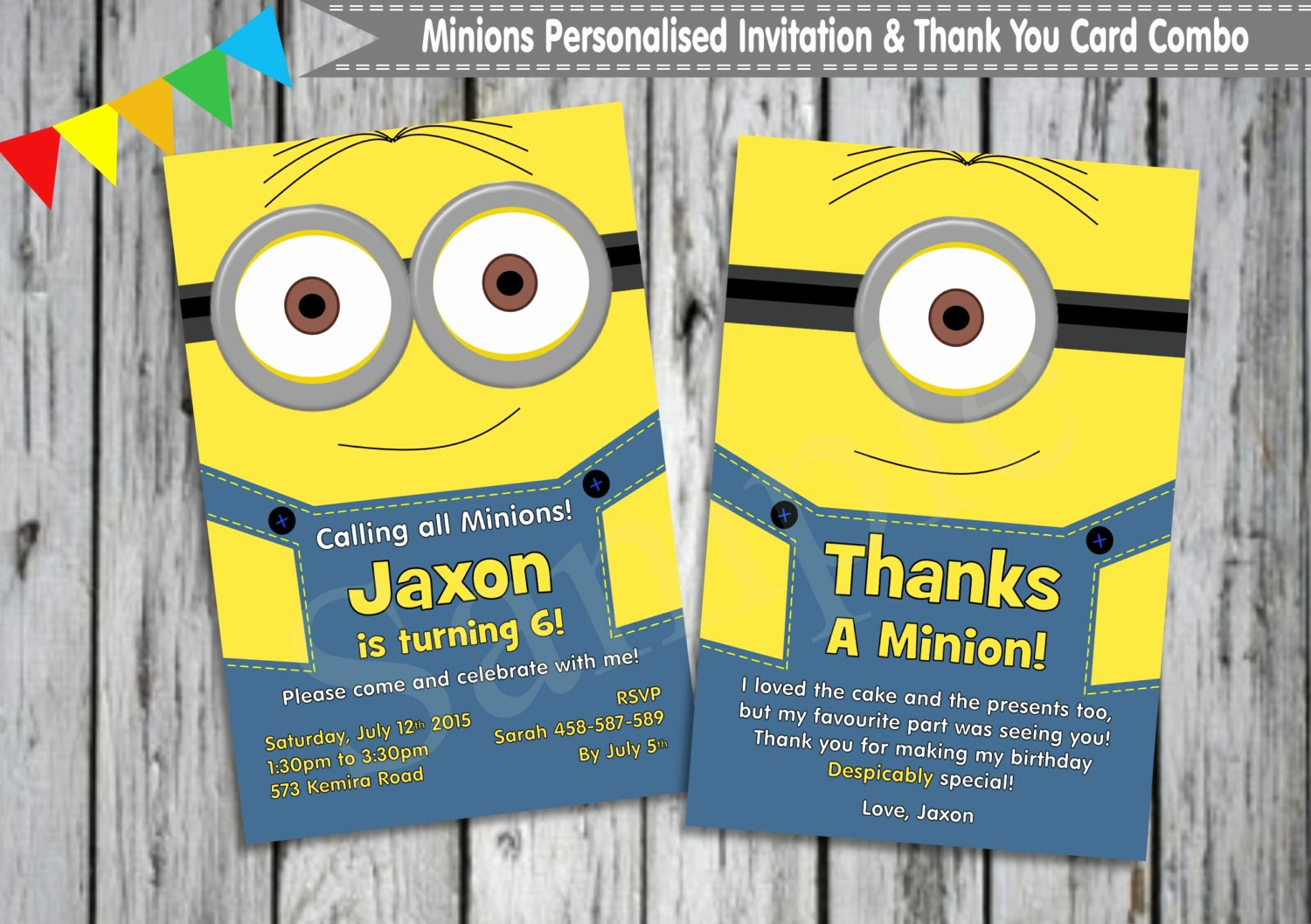 Minions Birthday Card Template Awesome Beautiful Minions Birthday Invitation Card 11 Awesome
