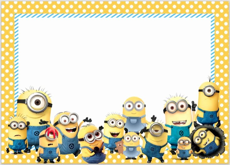 Minions Birthday Card Template Beautiful Best 25 Minion Birthday Invitations Ideas On Pinterest