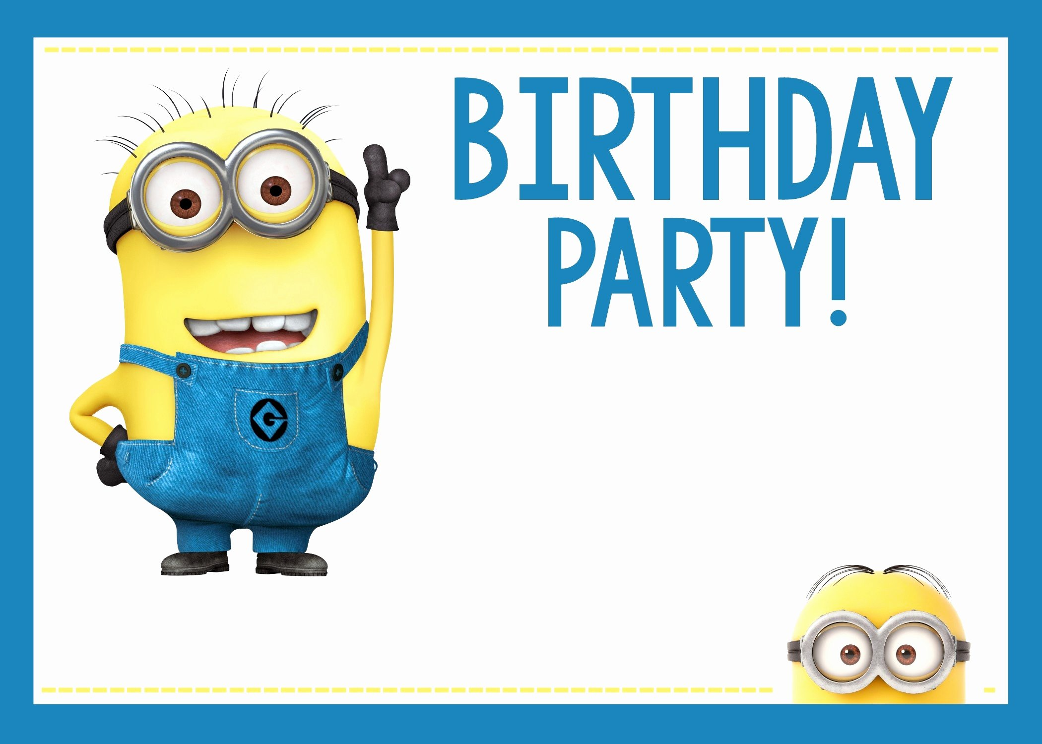 Minions Birthday Card Template Fresh Minion Birthday Card Template Unique Minion Birthday Card