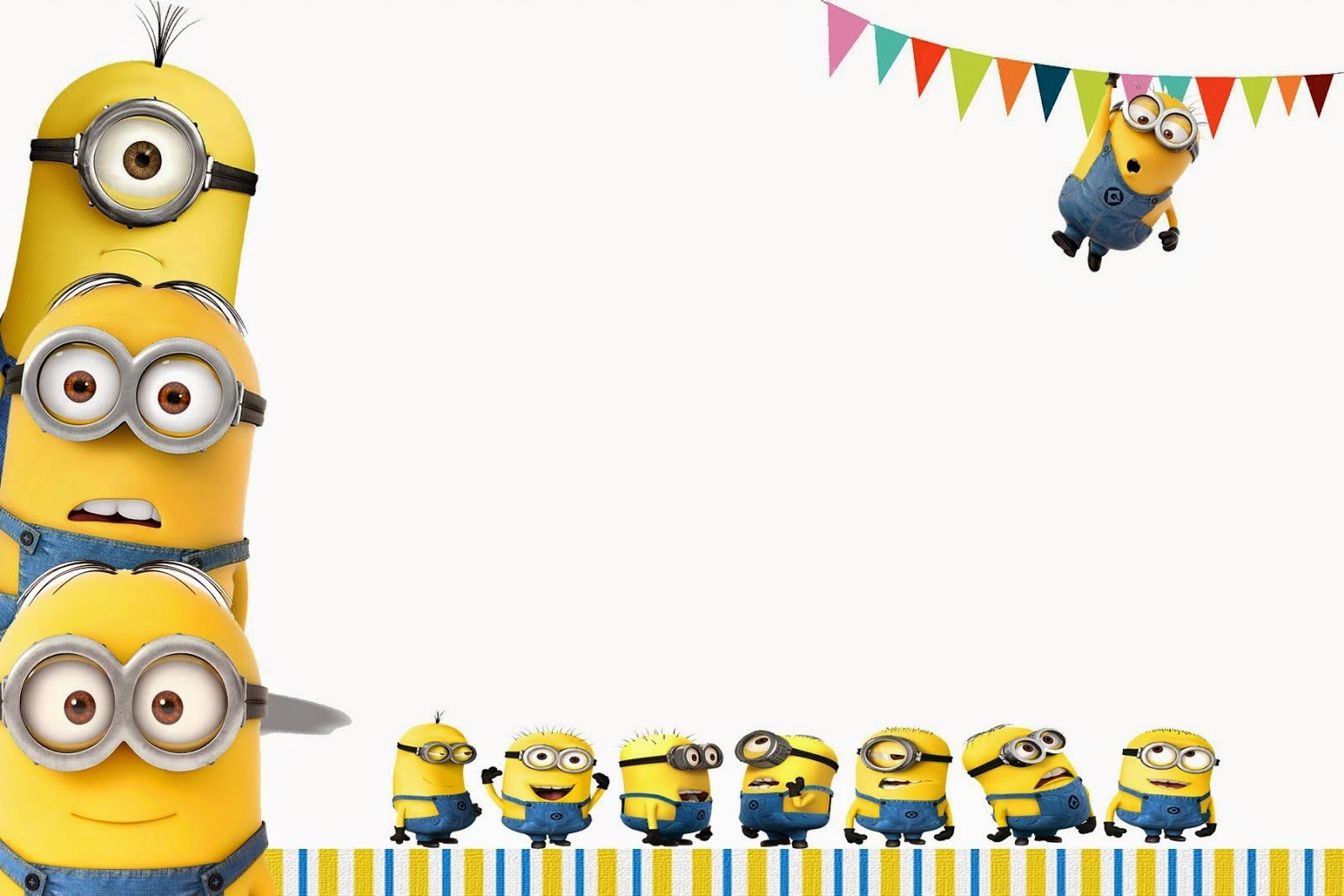 Minions Birthday Card Template New I Heart My Present Minion Birthday Party