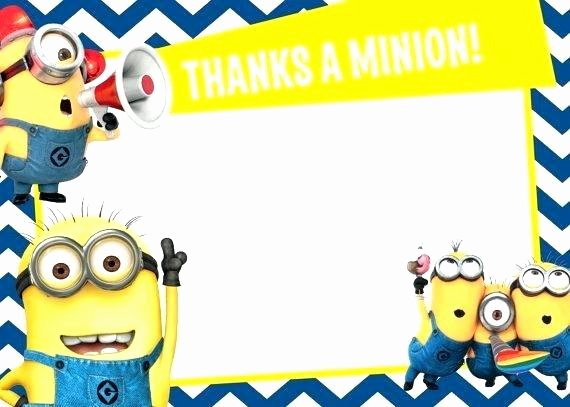 Minions Birthday Card Template Unique Minion Birthday Cards to Her with 2 Minion Happy