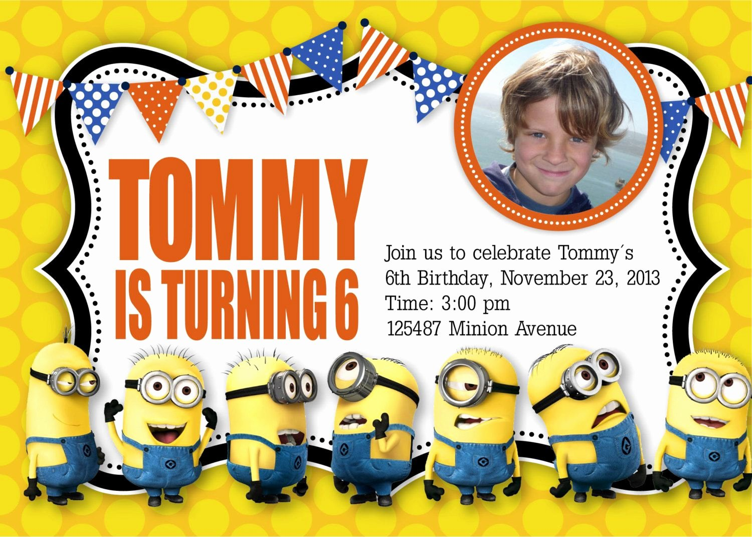 Minions Birthday Invitation Template Inspirational Minion Birthday Invitation Templates Free