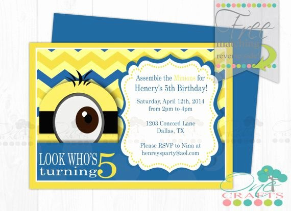 Minions Birthday Invitation Template Lovely Minion Baby Shower Invitation Template Image Ebookzdb