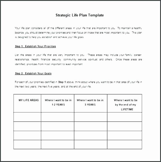 Ministry Strategic Plan Template Awesome Strategic Action Plan Template