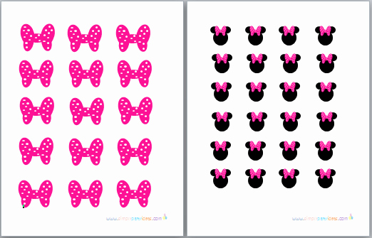 Minnie Mouse Bow Template Elegant 8 Best Of Minnie Mouse Bow Printable Minnie Mouse