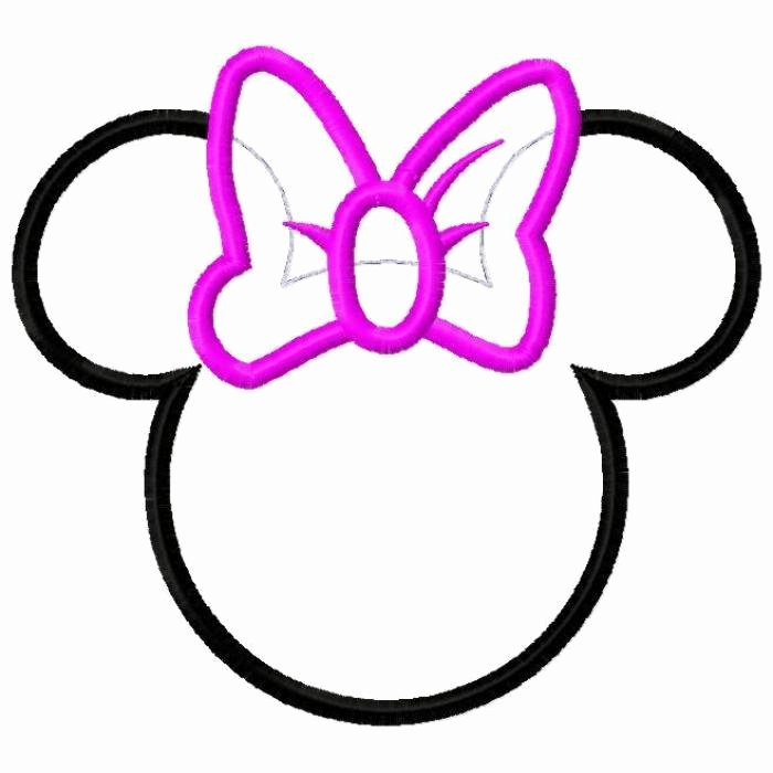 Minnie Mouse Bow Template Elegant Minnie Mouse Bow Template