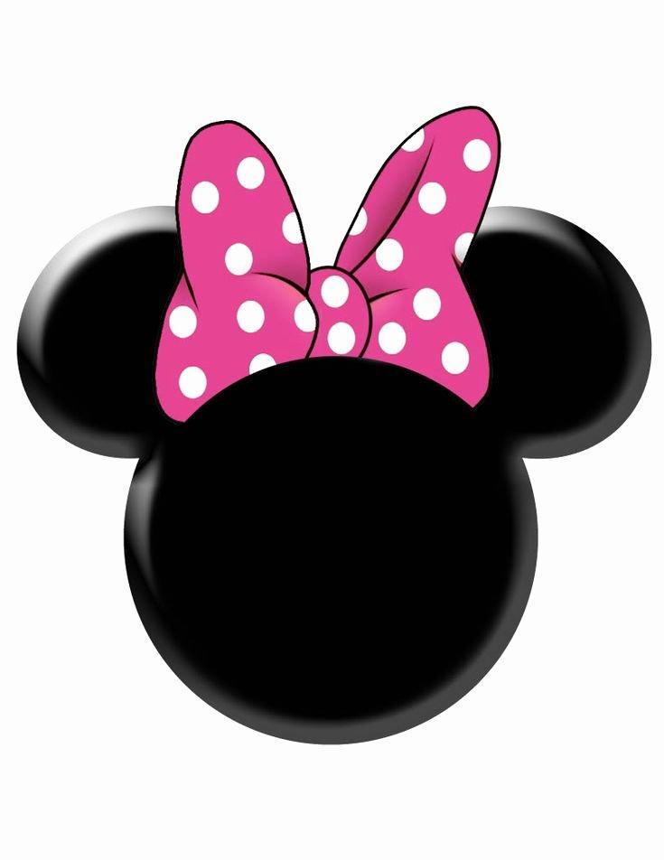 Minnie Mouse Bow Template Fresh Minnie Mouse Ear Stencil Google Search