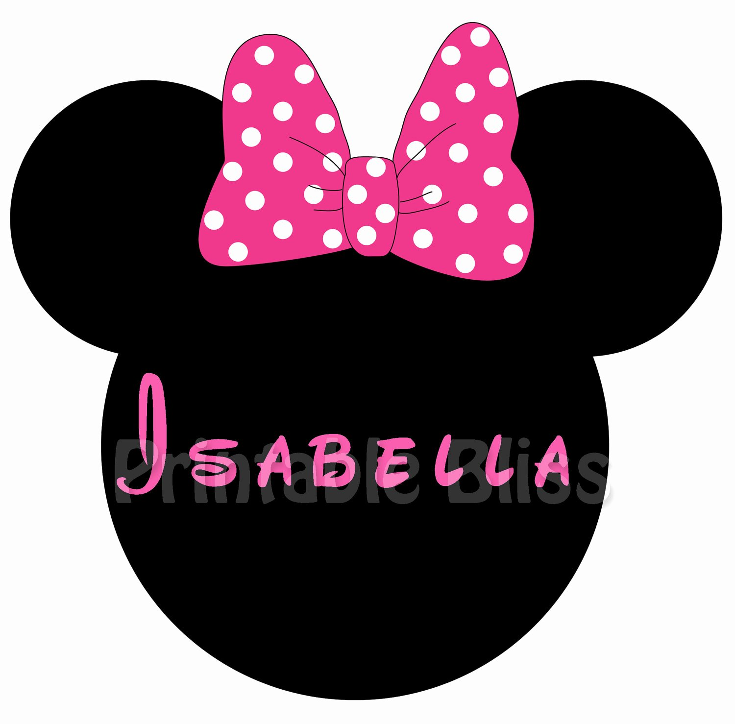 Minnie Mouse Bow Template Luxury Minnie Mouse Bow Template