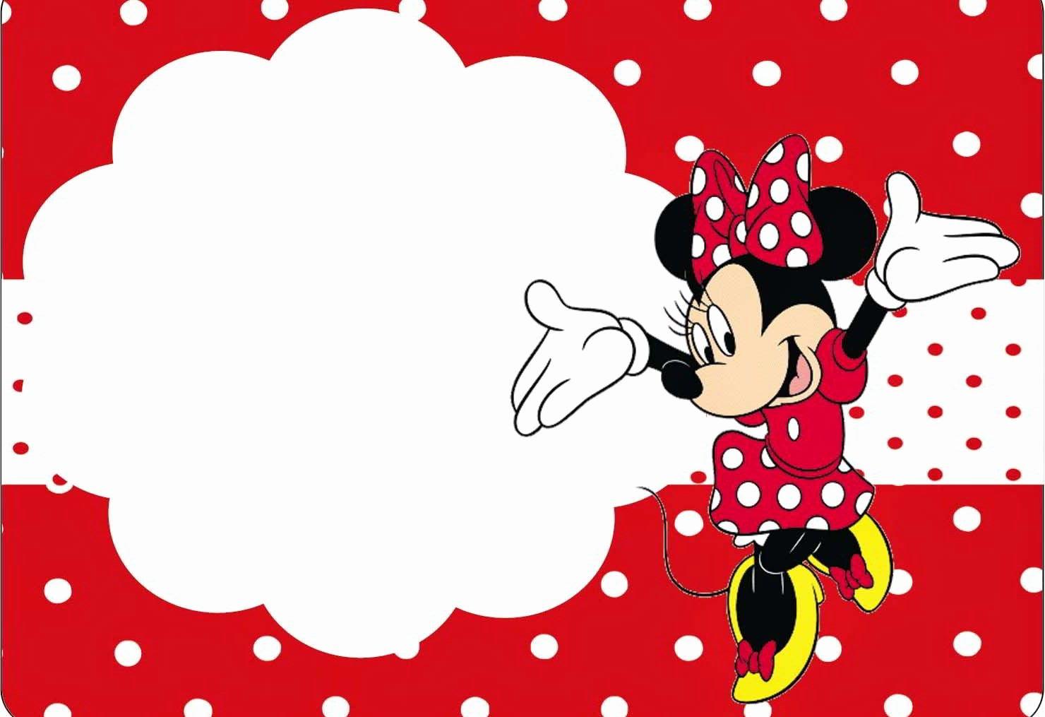 Minnie Mouse Invitation Template Luxury Custom Minnie Mouse Birthday Invitation Templates Free