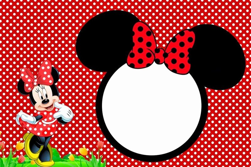 Minnie Mouse Invitation Template Luxury Minnie Mouse Free Printable Invitation Templates