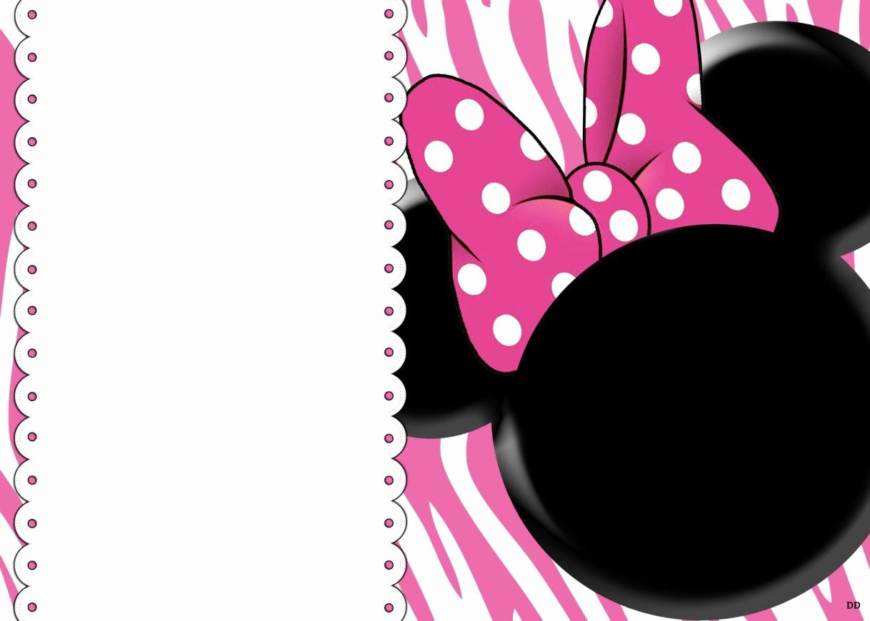 Minnie Mouse Invitation Template New 32 Superb Minnie Mouse Birthday Invitations