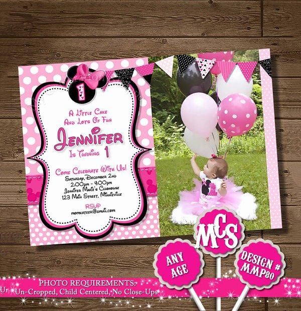 Minnie Mouse Invitation Template Unique 23 Awesome Minnie Mouse Invitation Templates Psd Ai
