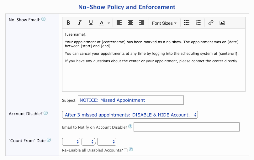 Missed Appointment Email Template Awesome Wconline