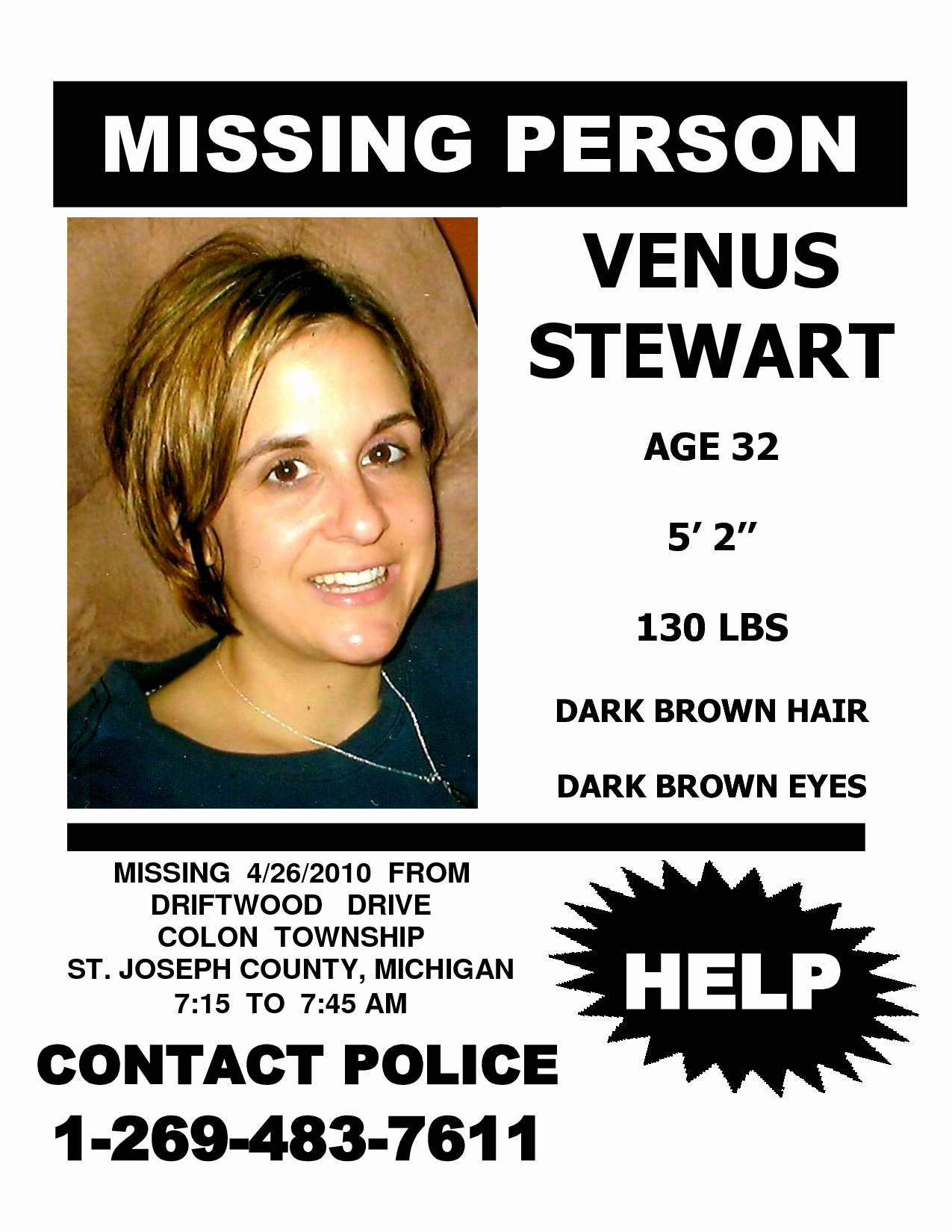 Missing Person Flyer Template Unique Missing People