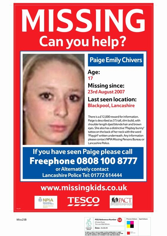 Missing Person Poster Template Luxury Missing People