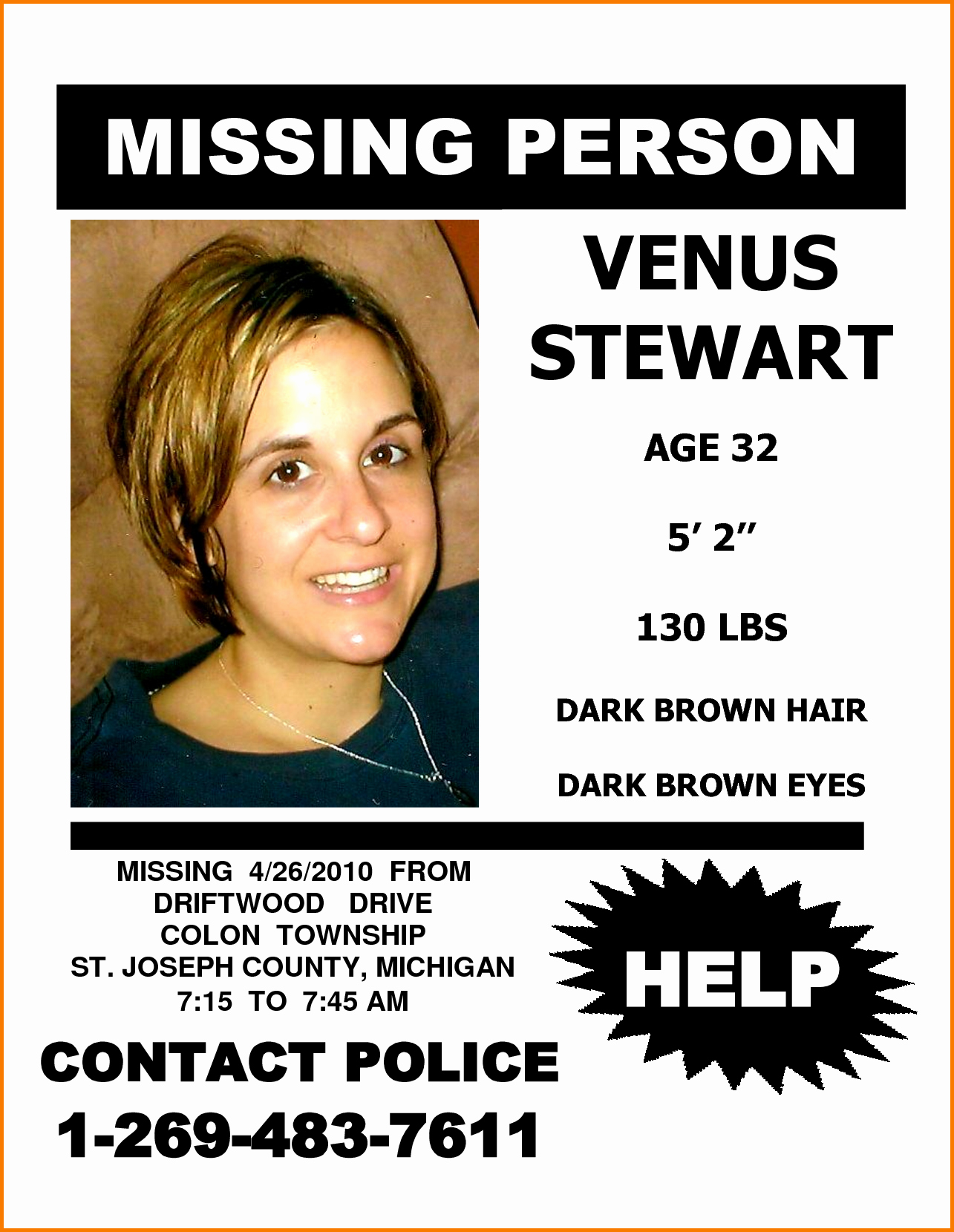 Missing Persons Flyer Template Awesome Missing Person Flyer Bamboodownunder