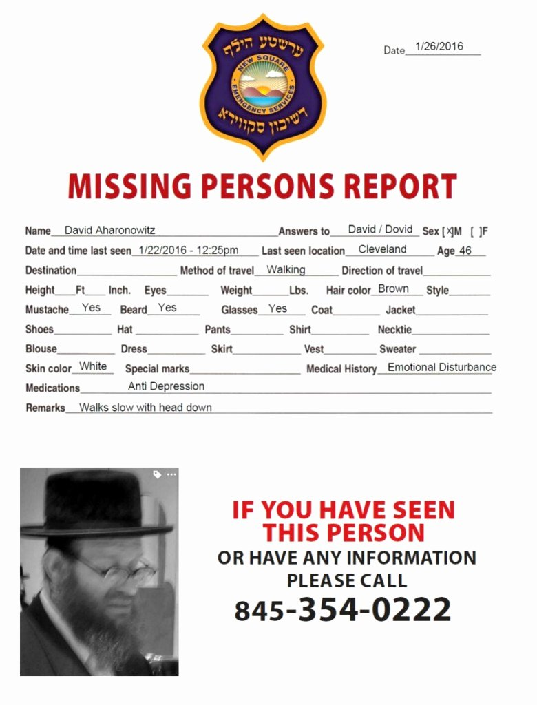 Missing Persons Flyer Template Unique Missing Person Flyer Template Inspirational Free Missing