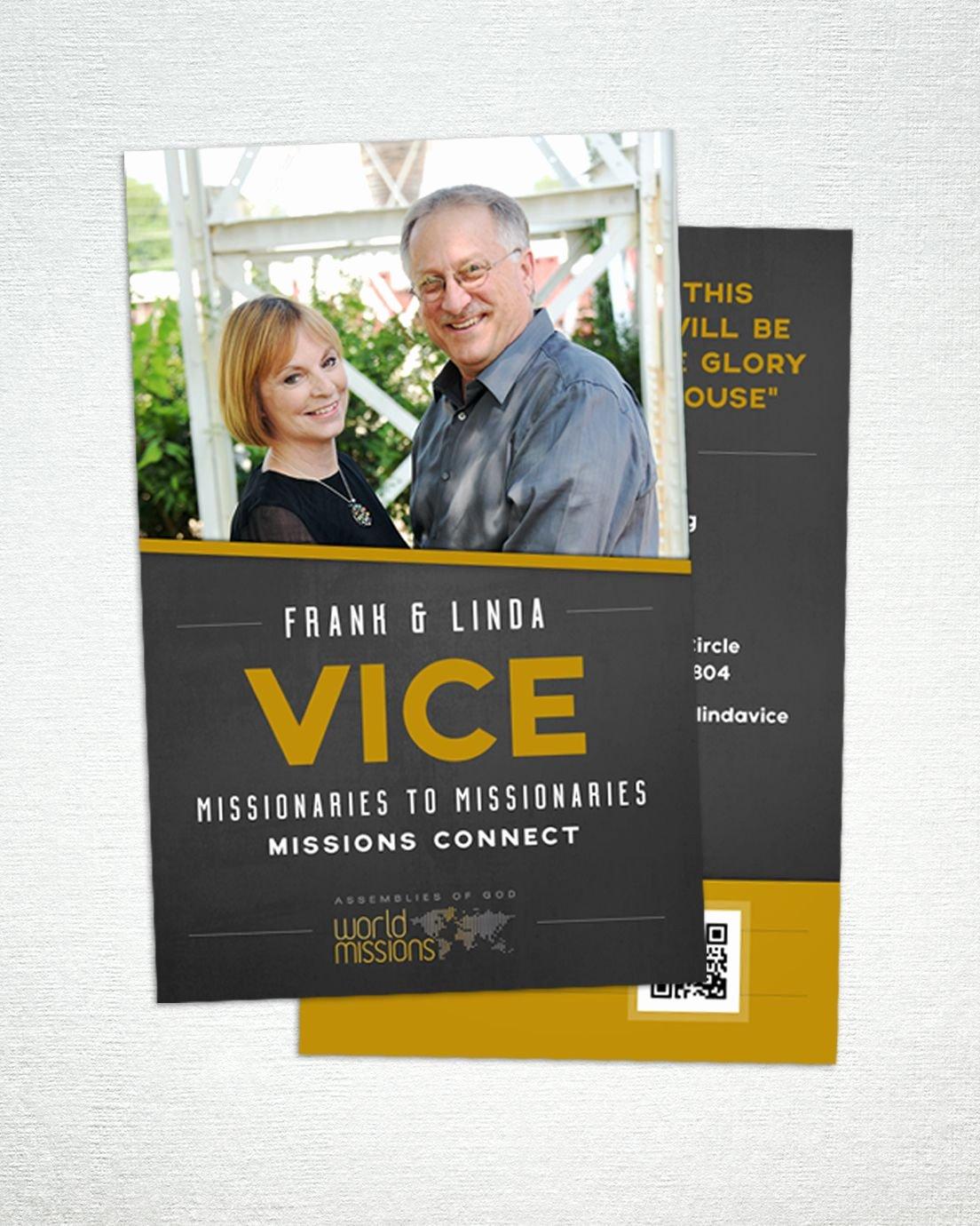 Missionary Prayer Card Template New ︎ Medium Prayer Card Missionslinked