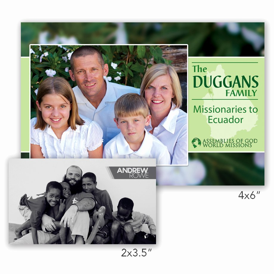 Missionary Prayer Card Template New Missionary Prayer Cards
