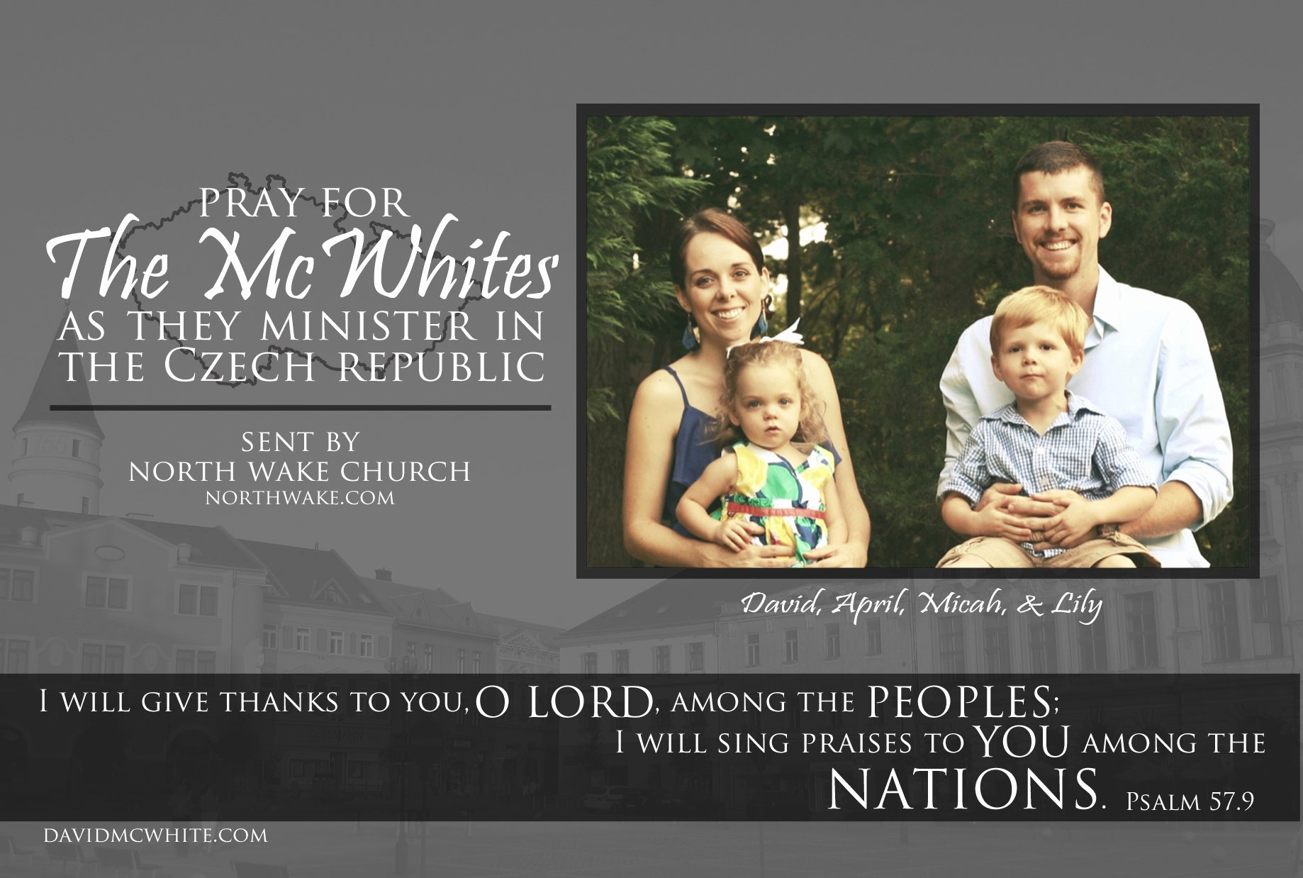 Missionary Prayer Card Template New New Prayer Cards – Mcwhites On Mission
