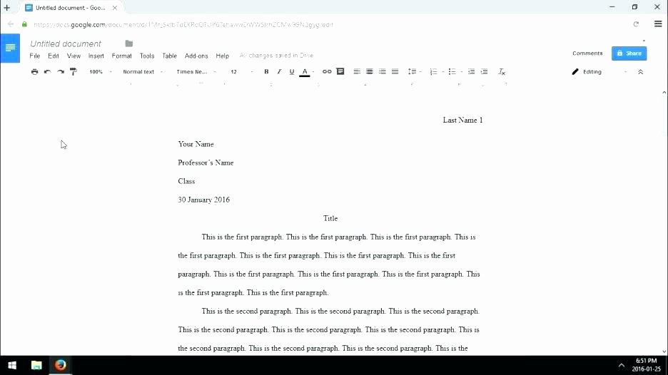 Mla Template Google Docs Beautiful Google Docs Mla Template – theoutdoors