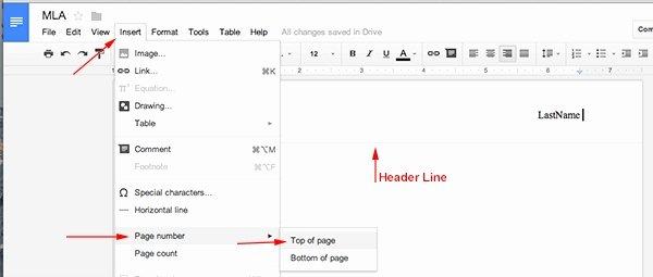 Mla Template Google Docs Fresh Mla format Template Google Docs