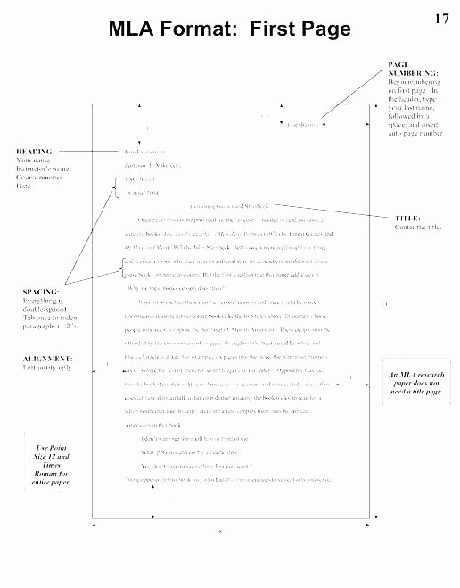 Mla Template Google Docs New Mla format for Essay formatted Paper Google Docs format