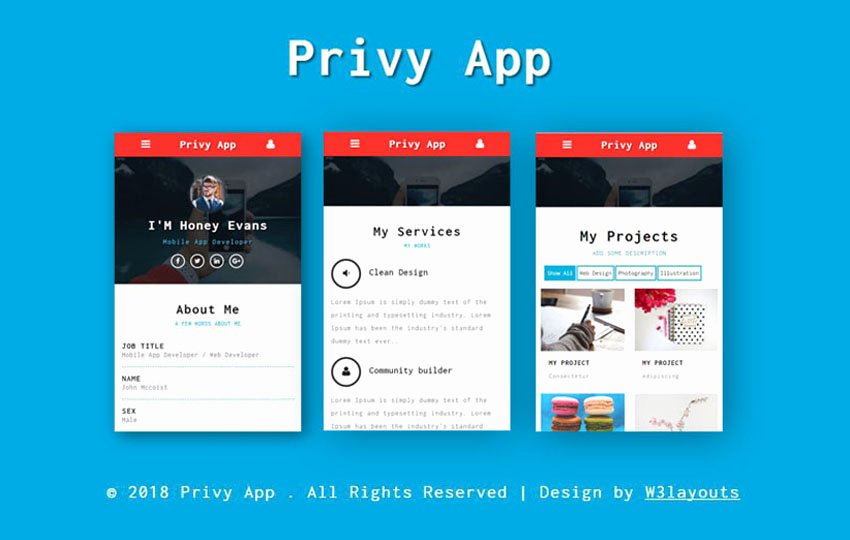 Mobile Apps Website Template Fresh Mobile App Website Templates Designs Free