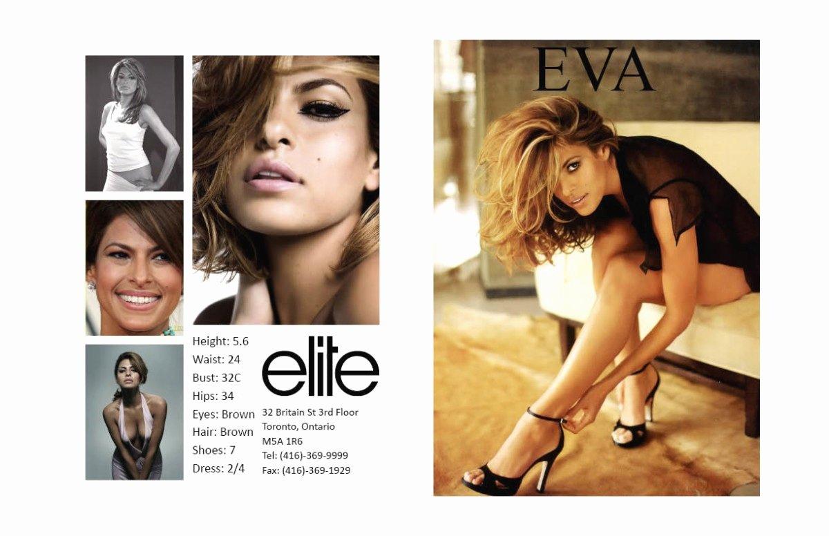 Model Comp Card Template Luxury Makeup Artist P Card Style Guru Fashion Glitz